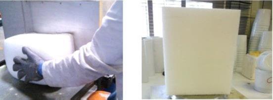 Manufacture of flexible polyurethane foam