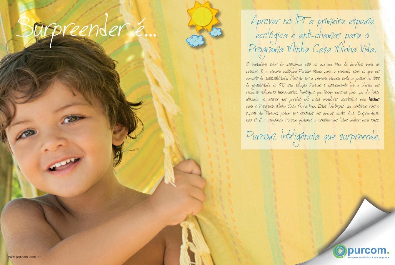Approving at IPT the first ecological and flame-retardant foam for Minha Casa Minha Vida.
